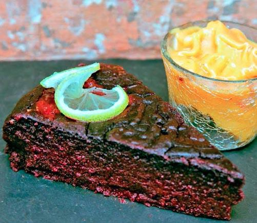 beetreoot cake